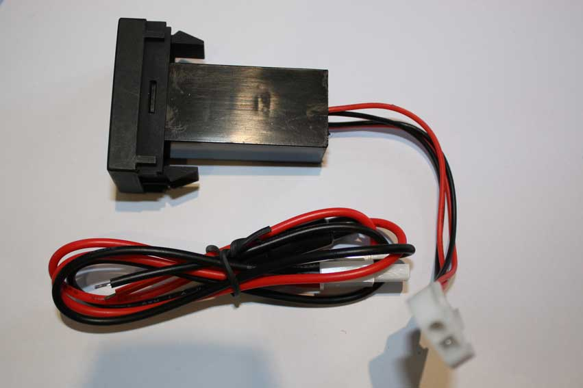 Oem Style T4 Dual Usb Charge Ports For Dash Blank T4